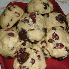 Chocolate Cranberry Cookies - Mix in a Jar