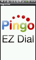 Screenshot of Pingo EZDial