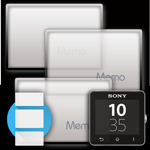 Photo Memo widget Android Wear