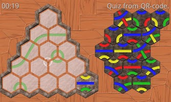 Screenshot of Tantrix Quiz