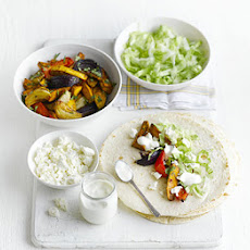 Oven-baked Sweet Potato Fajitas