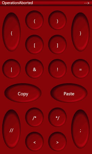 Developer Keypad