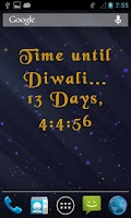 Screenshot of 3D Diwali Live Wallpaper Free