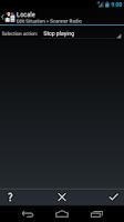 Screenshot of Scanner Radio Locale Plug-in