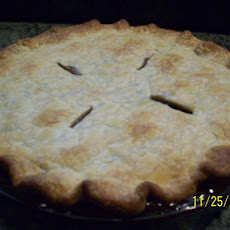 Mom's Infamous Mincemeat Pie