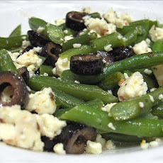Salad of French-Style Green Beans and Goat's Cheese