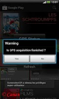Screenshot of Auto Launcher Gps
