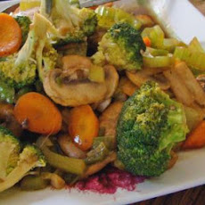Oriental Stir Fry Vegetables With Oyster Sauce