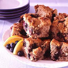 New England Blueberry Coffee Cake