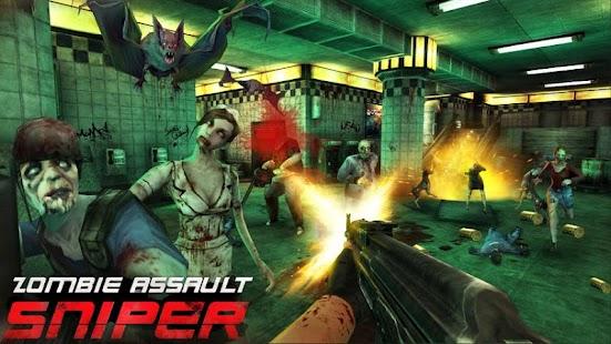 APK Game Zombie Assault:Sniper for BB, BlackBerry