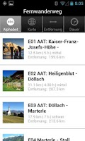Screenshot of Alpe Adria Trail