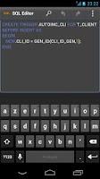 Screenshot of SQL Editor CR
