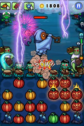 pumpkins-vs-monsters for android screenshot