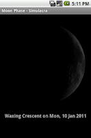 Screenshot of Moon Phase