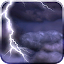 Thunderstorm Free Wallpaper APK for Blackberry