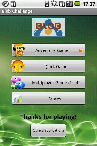 Android Blob Game