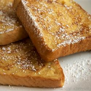 Reduced Fat French Toast