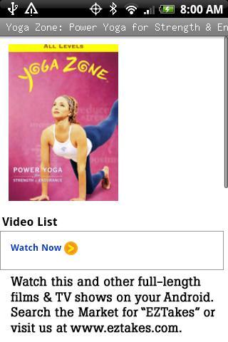 Yoga Zone: Power Yoga Strength