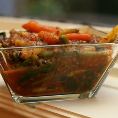 Kitchen Sink Veggie Lover Stew