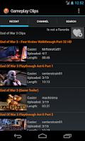 Screenshot of Gameplay Clips