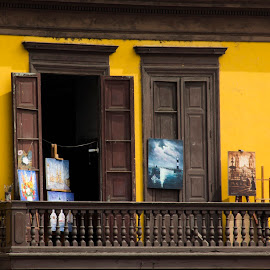Paintings For Sale by Janet Marsh - Buildings & Architecture Public & Historical ( window, peru, paintings,  )