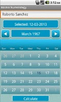 Screenshot of Master Numerology