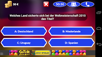 Screenshot of Fussball Quiz 2014