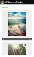 Screenshot of Brilliance: 500px Image Viewer