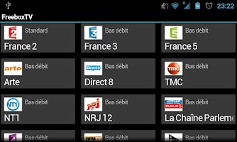 Screenshot of FreeboxTV
