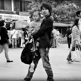Ayah & Anak by Nanie Amat - People Street & Candids