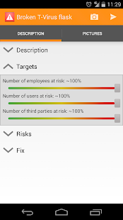 Risk Report - screenshot