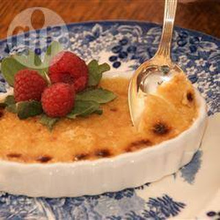 Creme brulee met Irish cream