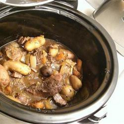 Venison Stew in the Slow Cooker