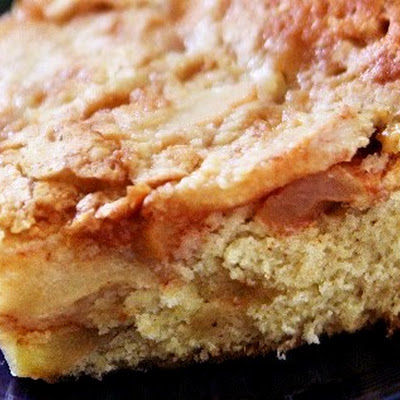 Sunday Morning Apple Coffee Cake