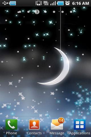 星光闪烁梦幻动态壁纸 X
