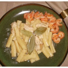 Chicken and Shrimp Linguine