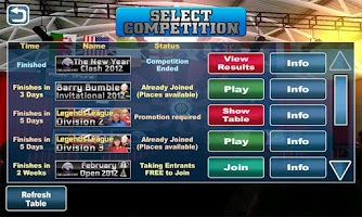 Screenshot of Legends Of Darts-Pro Online HD