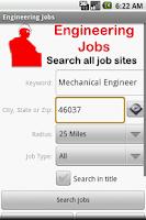 Screenshot of Engineering Jobs