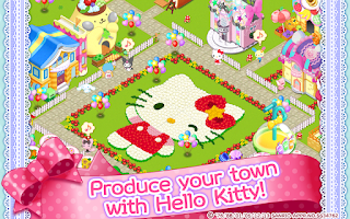 Screenshot of Hello Kitty Kawaii Town