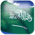 3D Saudi Arabia Flag icon