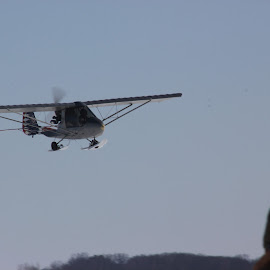 Ultralight by Paula Weston - Transportation Airplanes ( plane, ultralight,  )