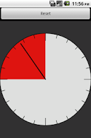 Screenshot of Boxe Round Clock