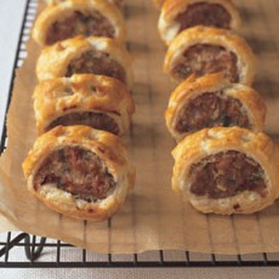 Sausage Rolls with Sage and Onion