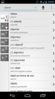 Screenshot of BK Dictionary French Italian