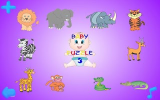 Screenshot of Baby Puzzle III Free