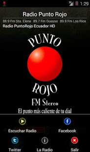 Radio Punto Rojo - Ecuador - screenshot