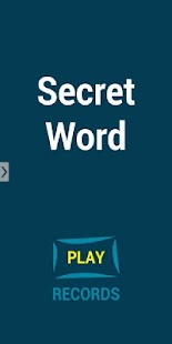 Secret Word - screenshot