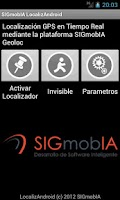 Screenshot of SIGmobIA LocalizAndroid