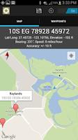Screenshot of MGRS GPS