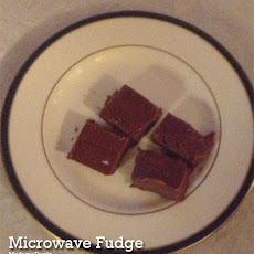 Two Minute Microwave Fudge